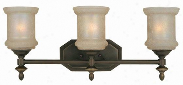 Vashon 3-light Vanity Light - Three Light, Bronze