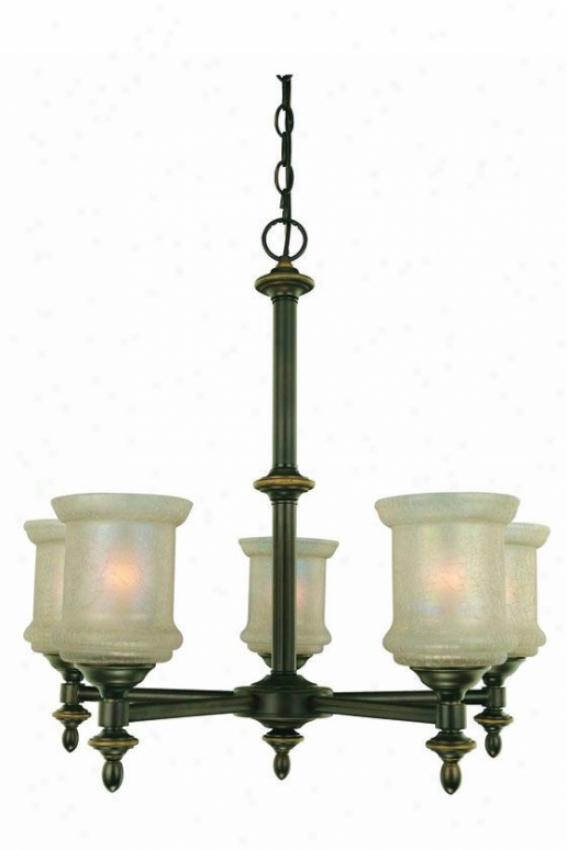 Vashon 5-light Chandelier - Flve Light, Bronze