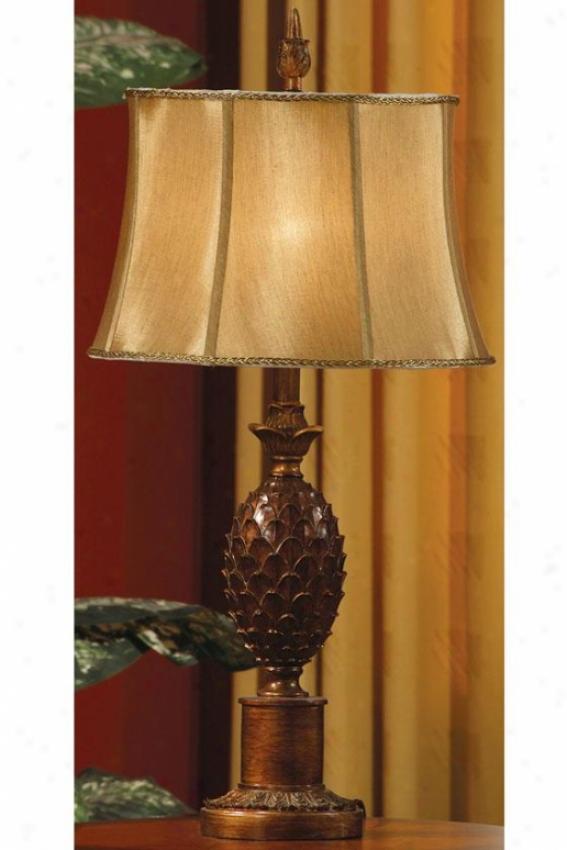 """""""verdi Gold Food Lamp - 30.5""""""""h, Verdi Gold"""""""