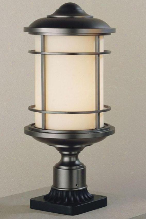 """""""virginia Outdoor Lamp Postman - 18.25""""""""h X 9""""""""w, Bronze"""""""