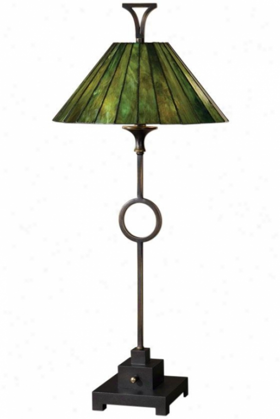 """viridiana Buffet Lamp - 36""""h, Alloy of copper"""