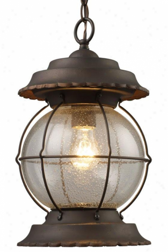 Westchester Outdoor Pendant - 1-light, Burnt Bronze