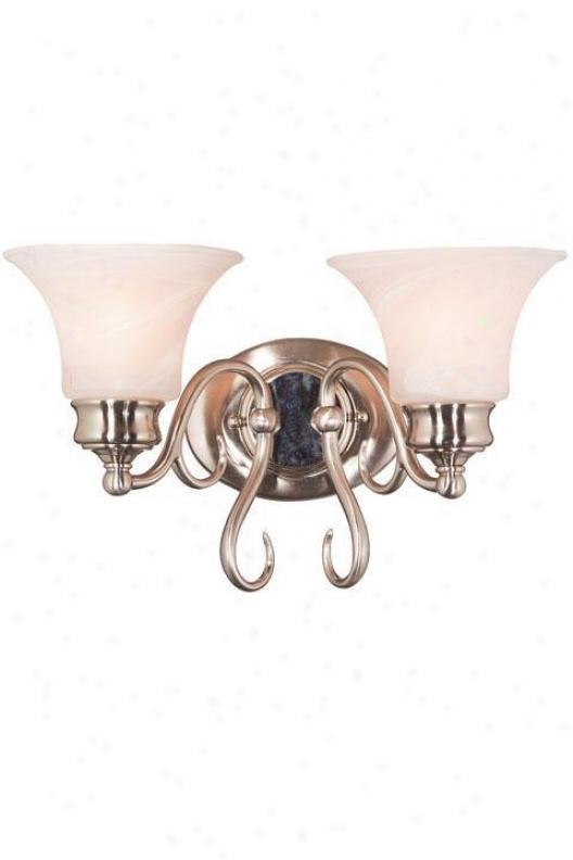 Wynwood Two-light Bath Light - Two Light, Grey Hardness