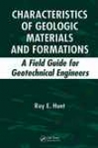 Characteristics Of Geologic Materials An Formations