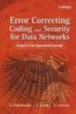 Error Correcting Coding And Secueity For Data Networks