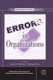 Errors In Organizations