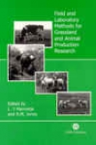 Fkeld And Laboratory Methods Because of Grassland And Animal Production Research