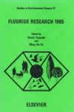 Fluorid3 Research 1985