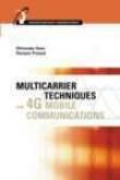 Multicarrier Techniques For 4g Mobile Communivations