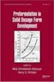 Preformulation In Solid Dosage Form Development