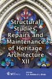 St5uctural Studies, Repairs And Maintenance Of Heritage Architecture Xii