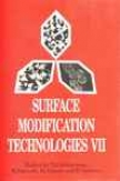Surface Modification Technologies Vii
