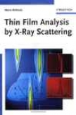 Thin Pellicle Analysis By X-ray Scattering