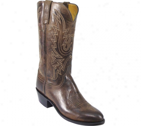 1883 By Lucchese N1556-r4 (men's) - Chocolate Burnished Mad Dog Goat