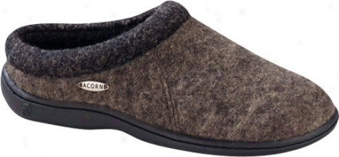 Acorn Digby (men's) - Greige Heather Wool
