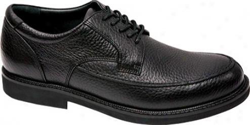 Aetrex Lt900 Oxford (men's) - Black Leather