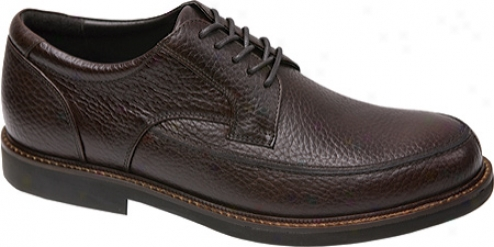 Aetrex Lt910 Oxford (men's) - Brown Leather