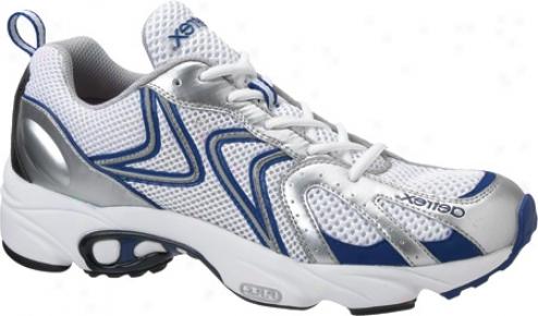Aetrex Zoom Runner (men's) - White/silver
