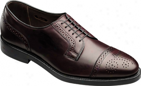 Allen-edmonds Hancock Ii (men's) - Burgundy Burnished Calfskin