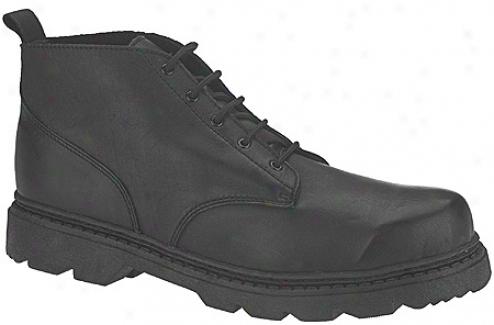 Altama Footwear Basic Work Boot (men's) - Black Leather