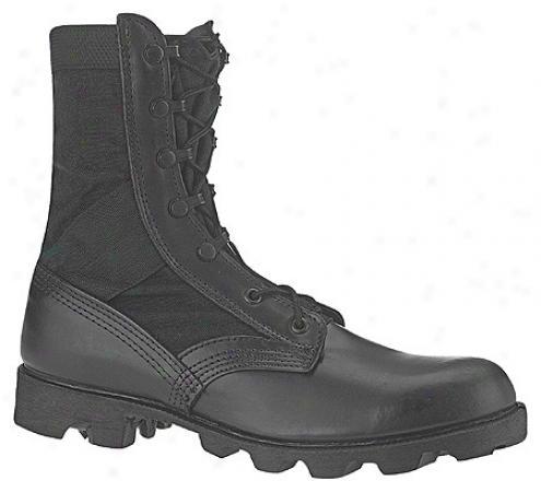 Altama Footwear Jungle Boot 6853 (men's) - Black Leather / Cordura Nylon