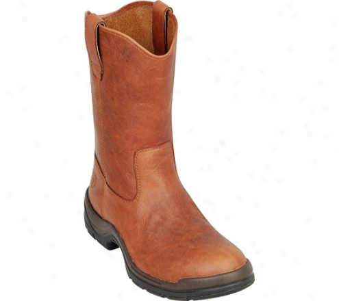 Ariat Flexpro Pull-on Composite Toe (men's) - Russset Brown Abundant Grain Leather Compounded Toe