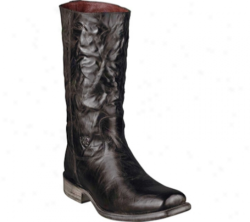Ariat Galveston (men's) - Paris Chocolate Full Particle Leather