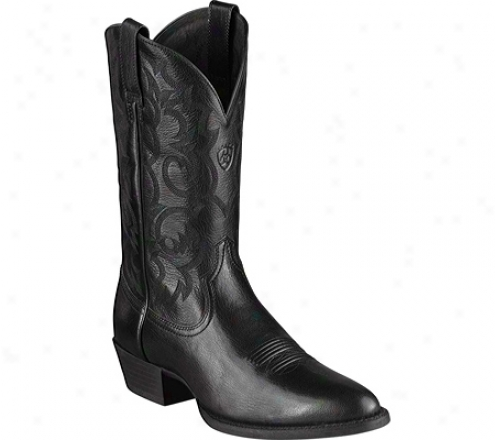 Ariat Mclintock (men's) - Black Full Grain Leather