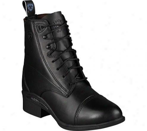 Ariat Quantum Performer Pro (men's) - Black Full Grain Leather
