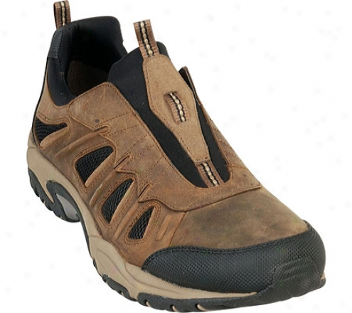 Ariat Ridge Crest (men's) - Distrssed Brown Full Grain Leather