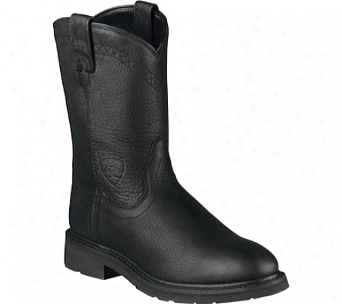Ariat Sierrz (men&#039;s) - Black Full Grain Leather
