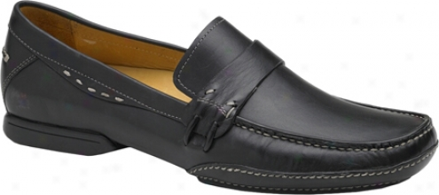 Bacco Bucci Boka (men's) - Black Calf