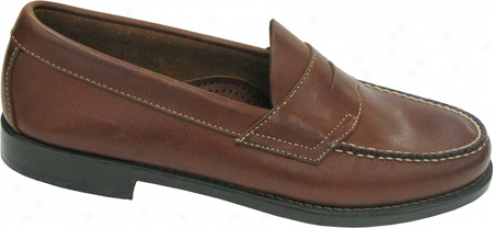 Bass Logan (men's) - Tan Smooth Leather