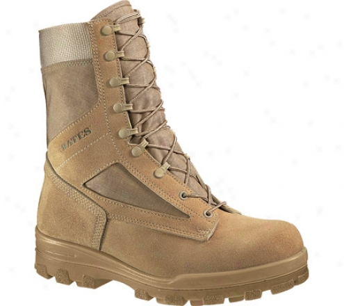 """bates 8"""" Durahocks Desert Steel Toe E01130 (men's) - Tan"""
