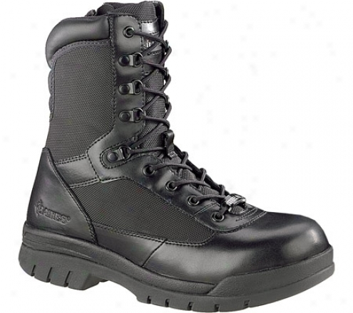 """bates 8"""" Steel Toe Verge Zip E02320 (men's) - Black"""