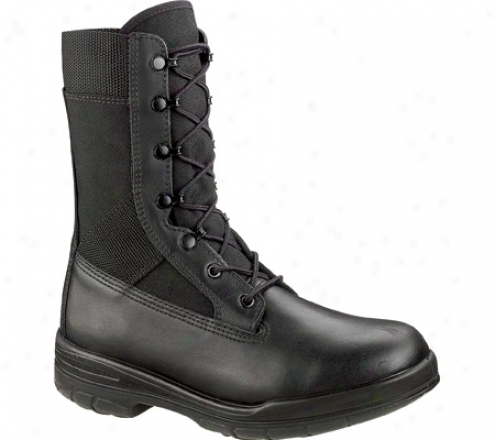 """bates 8"""" Tropical Seals Durashocks E00922 (men's) - Black"""