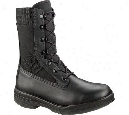 """bates 8"""" Tropical Seals Durashocks E00922 (men's) - Black"""