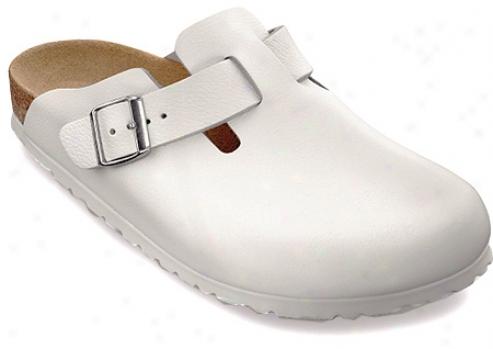 Birmenstock Boston Leather-white Leather