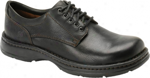 Born Hutchins Ii (men's) - Black Full Grain Leather