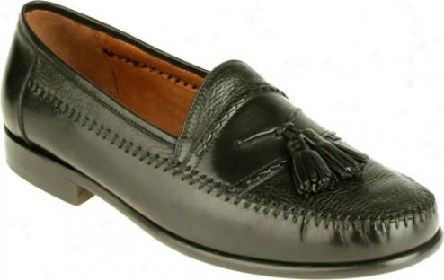 Brass Boot Alfredo (men's) - Black Deerskin/leather