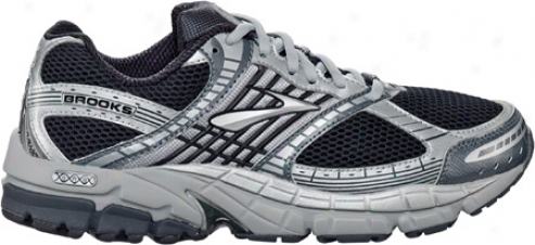 Brooks Beaqt (men's) - Anthracite/white/black/silver