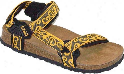 California Footwear Co. Yosemite (men's) - Yellow Nylon