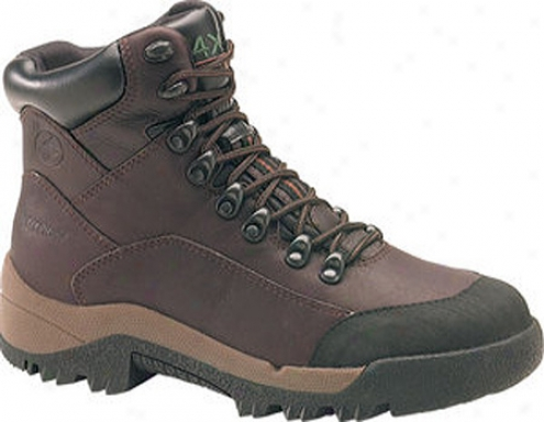 """carolina 4x4 6"""" Mudguard Waterproof Hike-dark Brown Leather (men's)"""