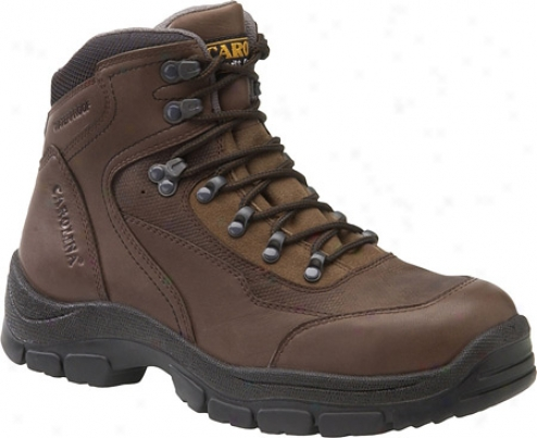 Carolina St 4 X 4 Hiker 6 (men's) - Dark Brown Leather