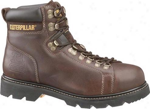 Caterpillar Alaska Fx Steel Toe (men's) - Brown Tumbled Twentieth part of a scruple