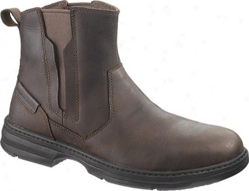 Caterpillar Consort Steel Toe (men's) - Dark Brown
