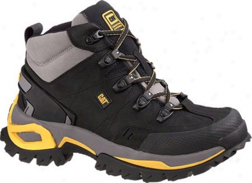 Caterpillar Interface Hi Steel Toe (men's)_- Black