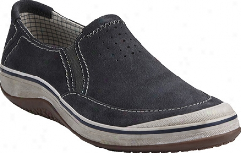 Clarks Bloodhoune (men's) - Steel Blue Suede