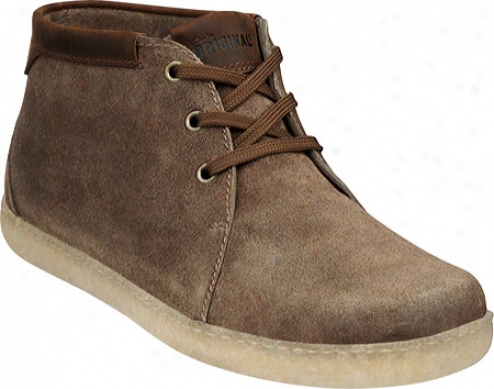 Clarks Lapland (men's) - Taupe Distressed Sueed