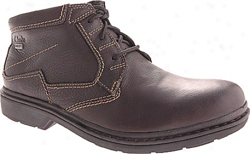 Clarks Rockie Hl Gtx (men's) - Black Leather